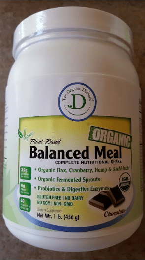 Chocolate Organic Balanced Meal