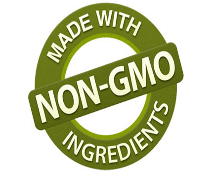 100% Non-GMO Ingredients