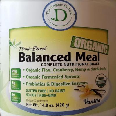 Vanilla Bean, Plant Based Vegan Protein Powder Complete Nutritional Shake - 1 lb (420g) 00003