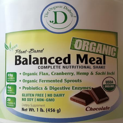 One Chocolate Crave, One Vanilla Bean, Plant Based Vegan Protein Powder Complete Nutritional Shake - 2 lb (876g) 00005