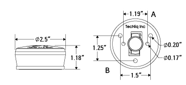 TecNiq M10 Waketower All-Round LED Navigation Light