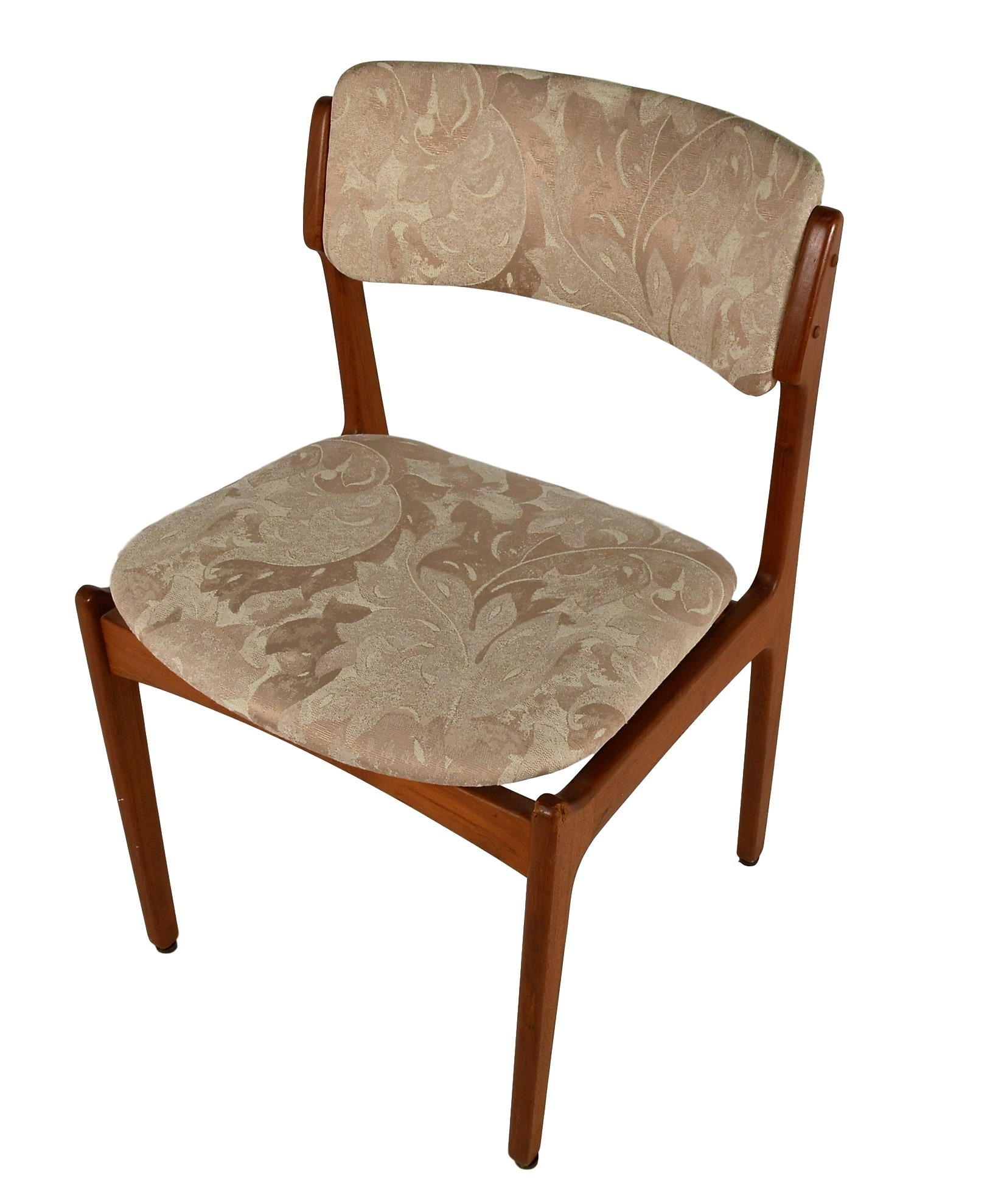 erik buck chairs ergonomic chair and ottoman set of 6 teak dining