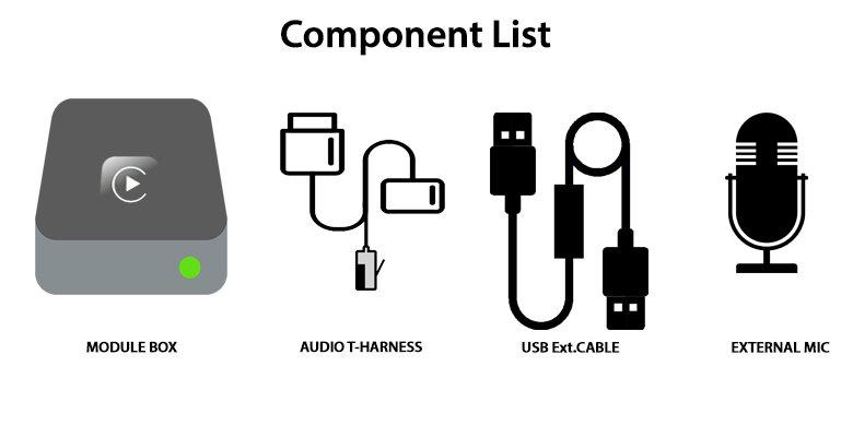 Apple CarPlay Integration Kit for C-Class / GLC-Class V