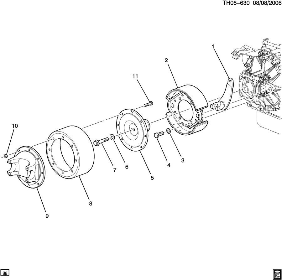 2003-09 Topkick/Kodiak C6500-C8500/T6500-T8500 Driveshaft