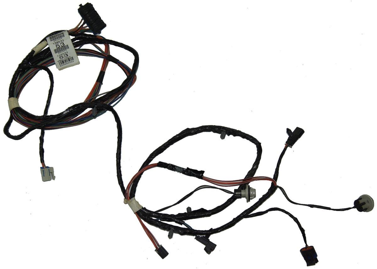 2004-2009 Cadillac XLR Rear Fog Lamp Wiring Harness Export