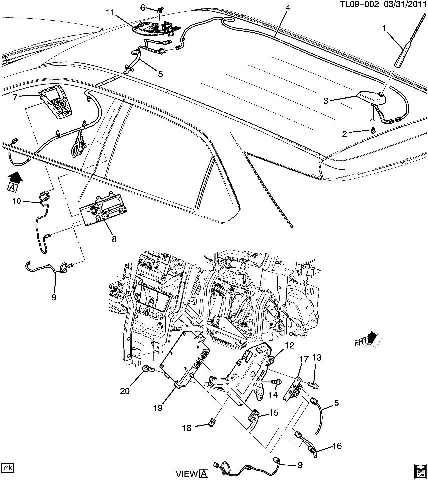 2010 Chevy Traverse Radio Wiring Diagram