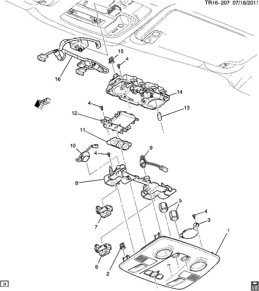 [WRG-4423] 2008 Gmc Acadia Wiring Diagrams