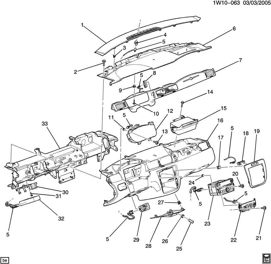 2012-2014 Chevy Impala LTZ Headlight Switch W/Fog Lamps