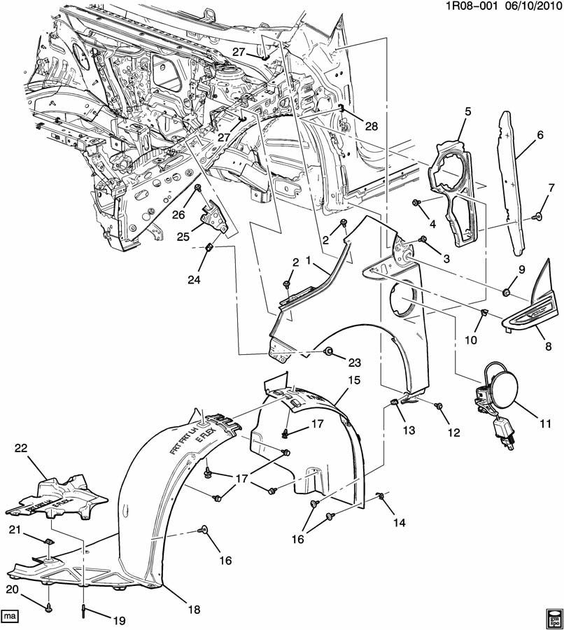 2014 Chevy Sonic Parts Diagrams • Wiring Diagram For Free