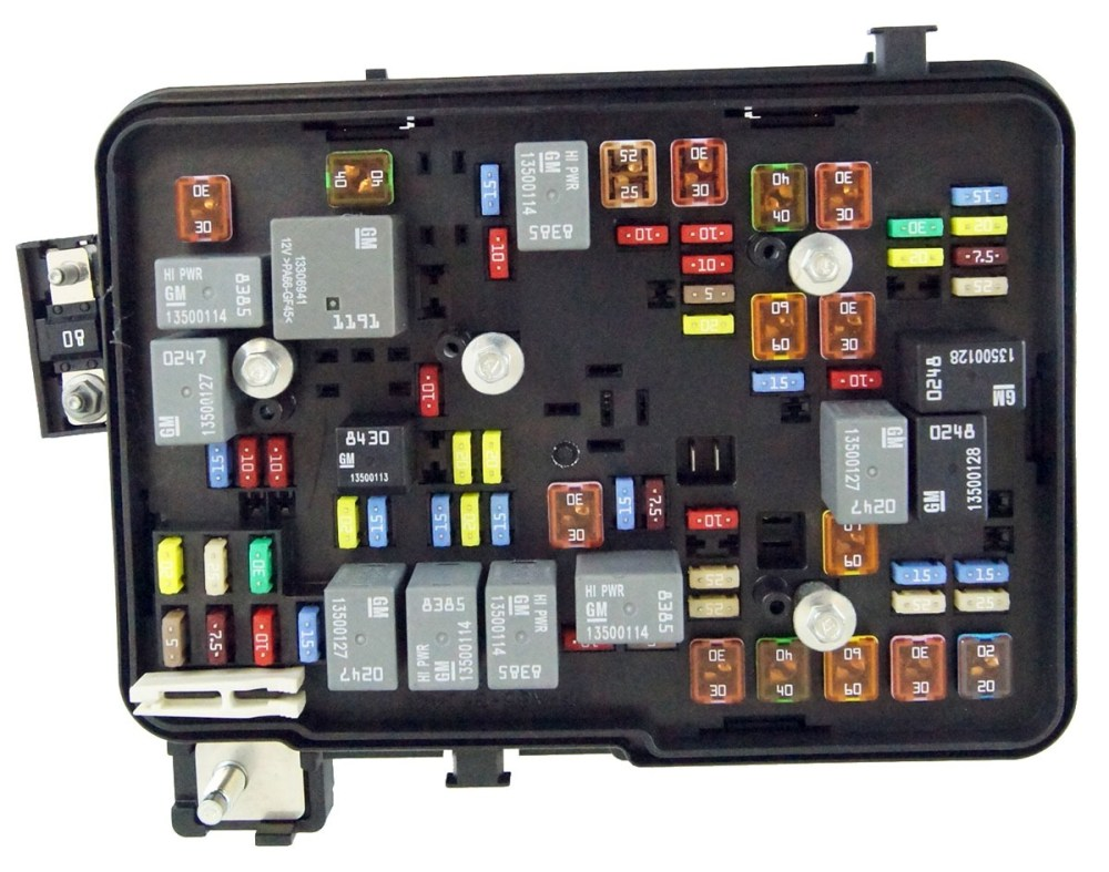 medium resolution of 2011 2012 gmc terrain equinox 2 4l engine compartment fuse 2002 gmc sonoma fuse box diagram