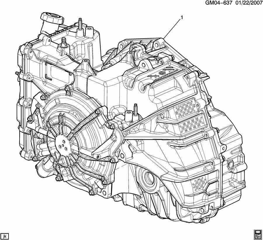 2013-2017 GM Automatic Transmission 3.6L 2.77 Gears New