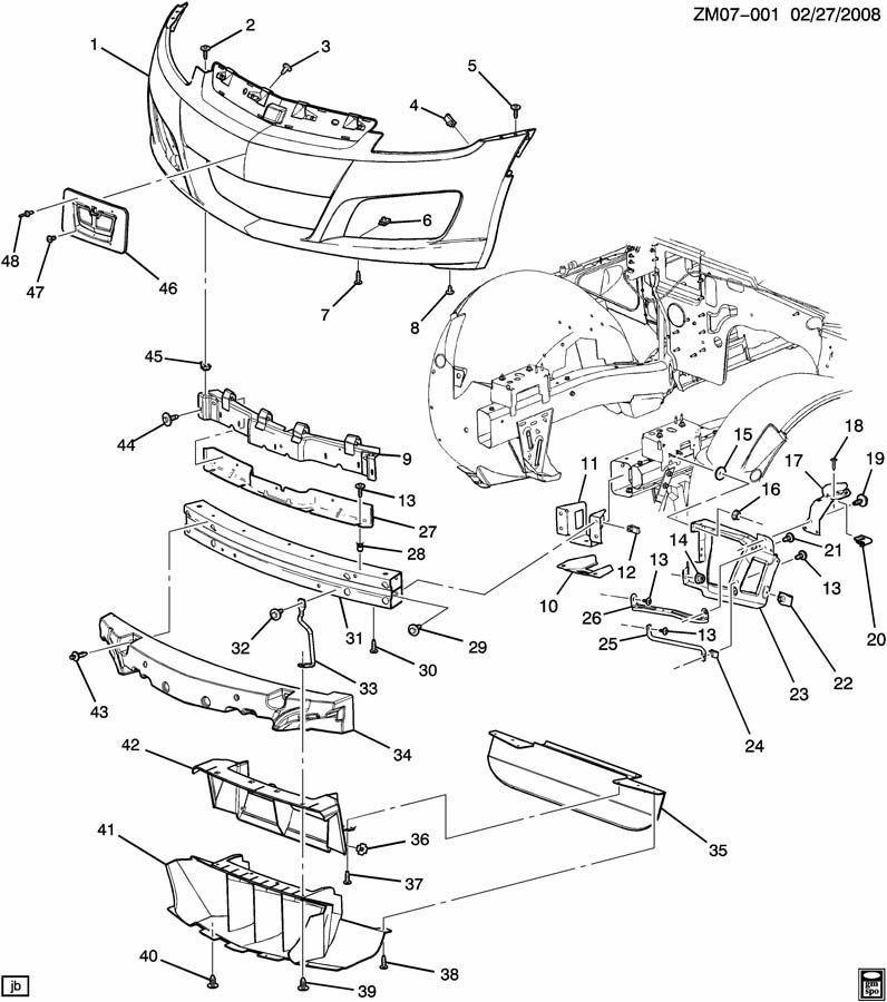 2008 Hummer H3 Parts Diagram