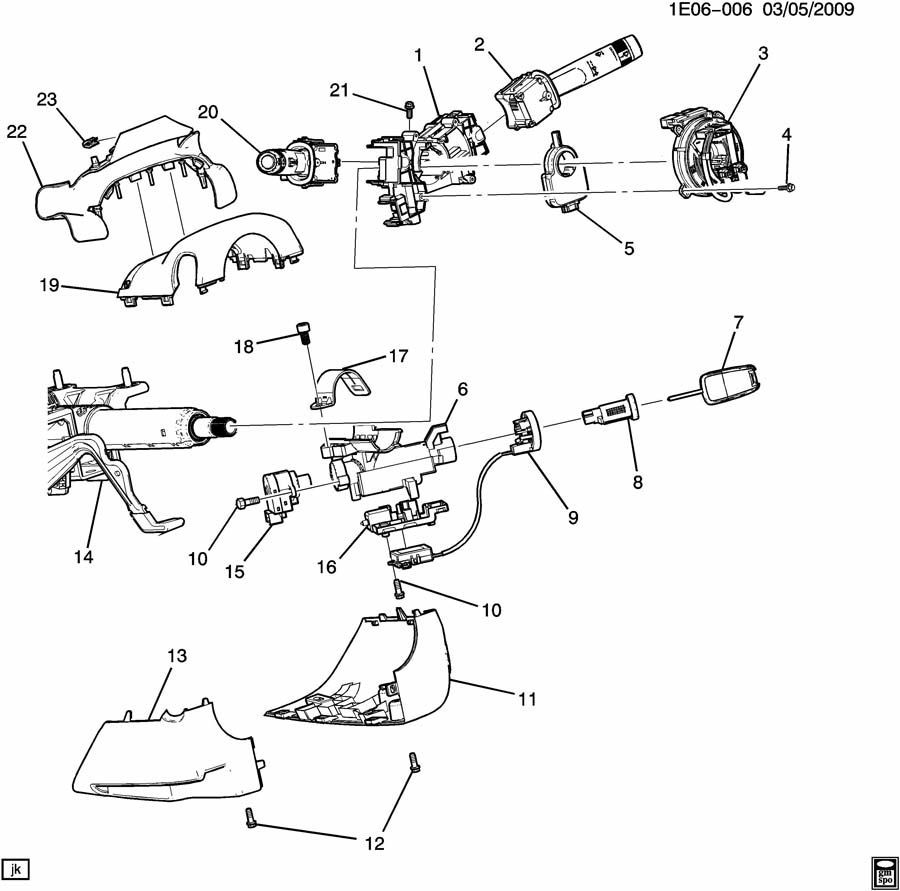 GM Chevrolet Buick GMC Steering Column Bracket Turn Signal