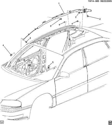 2006-2014 Chevy Impala & Monte Carlo Side Airbag Impact
