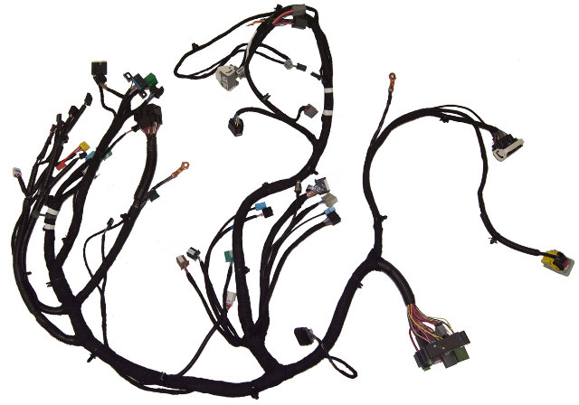 overhead console wiring harness for malibu