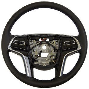 201315 Cadillac XTS Steering Wheel Black Leather WPaddle Shifters New 23194621 | Factory OEM Parts
