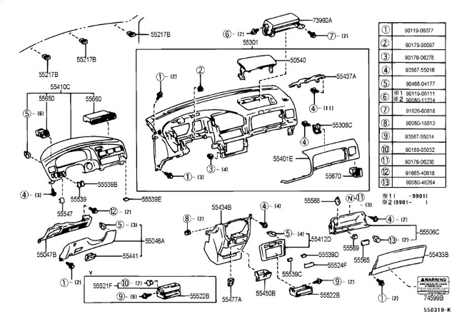 2005 Toyota Sienna Wiring Diagram • Wiring Diagram For Free