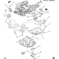 Solstice Sky Manual Transmission Support Reinforcement