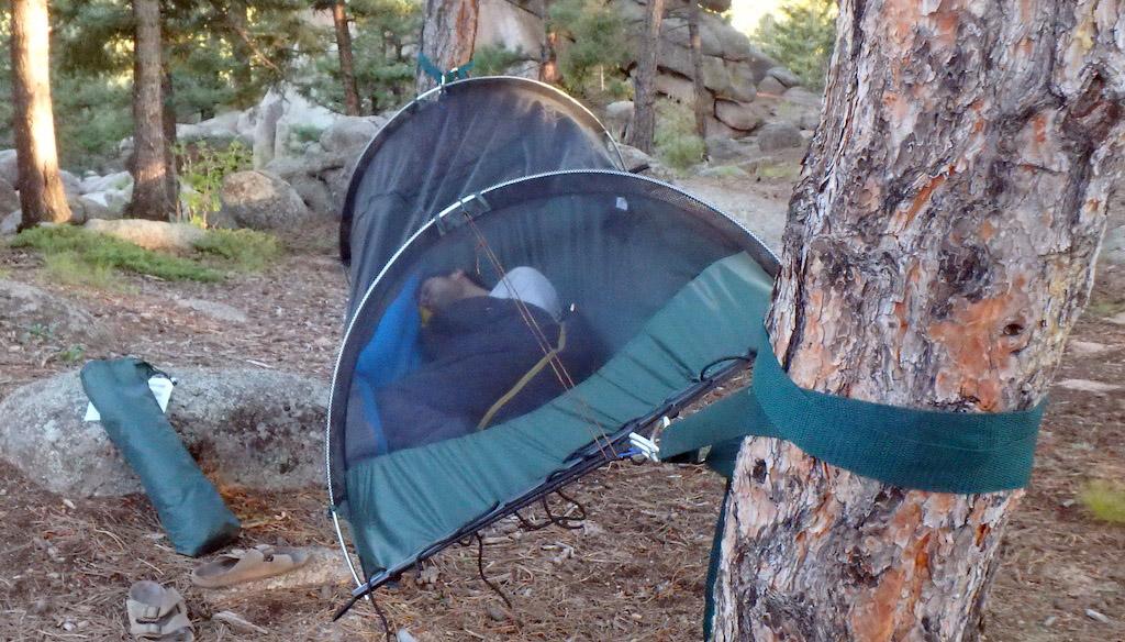HeadToHead Camping Hammock HangOff Test