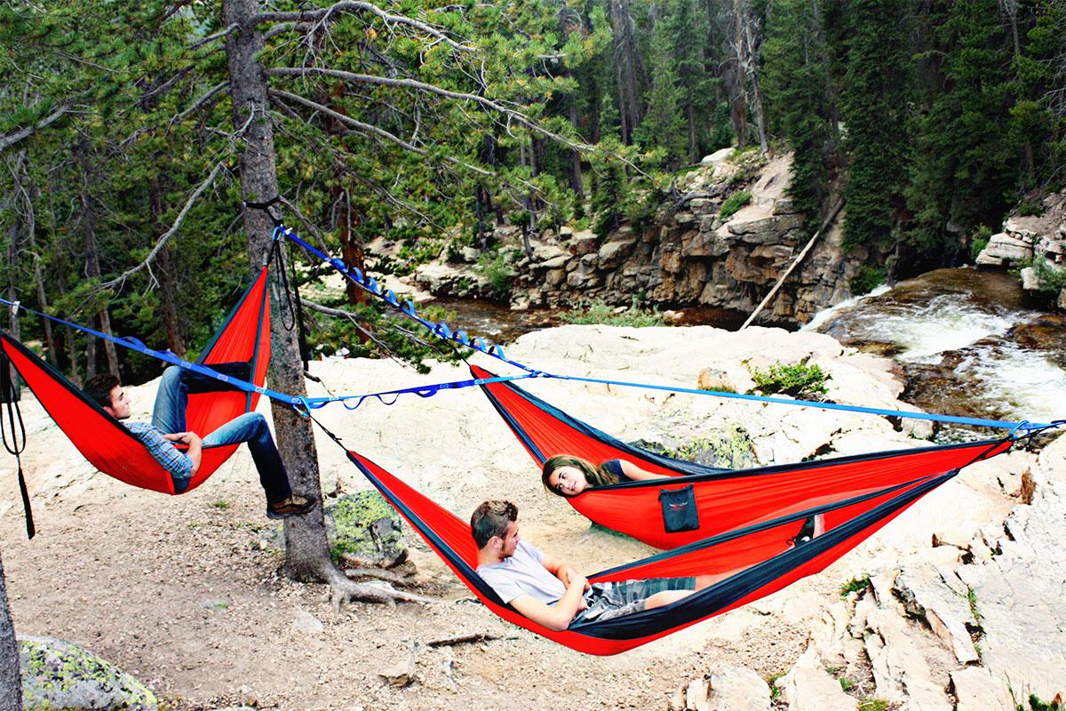 Create 'hammock Commune' With Treeo Frame