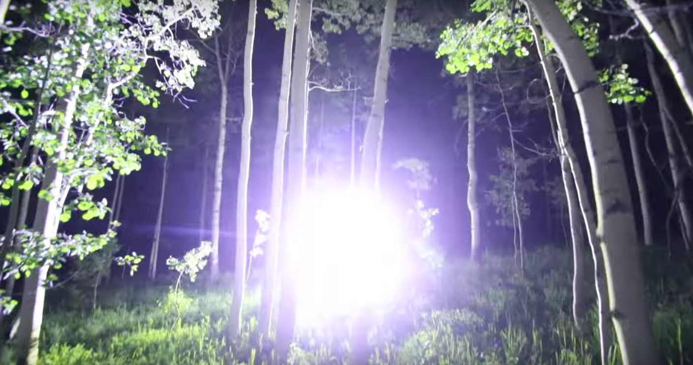 Overkill Check out this 90000 Lumen Flashlight  GearJunkie