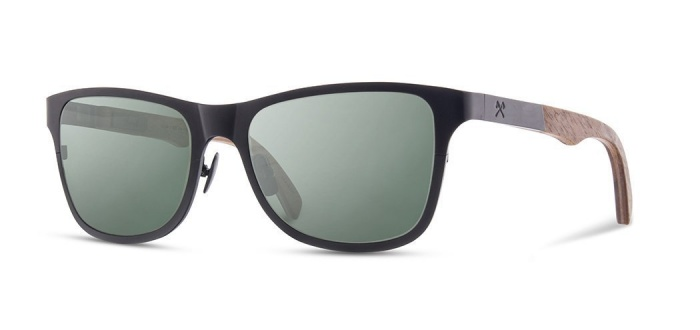 Shwood Canby Titanium Sunglasses Made in USA
