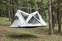 Elevated Camping: Meet The Snow Peak 'Sky Nest'