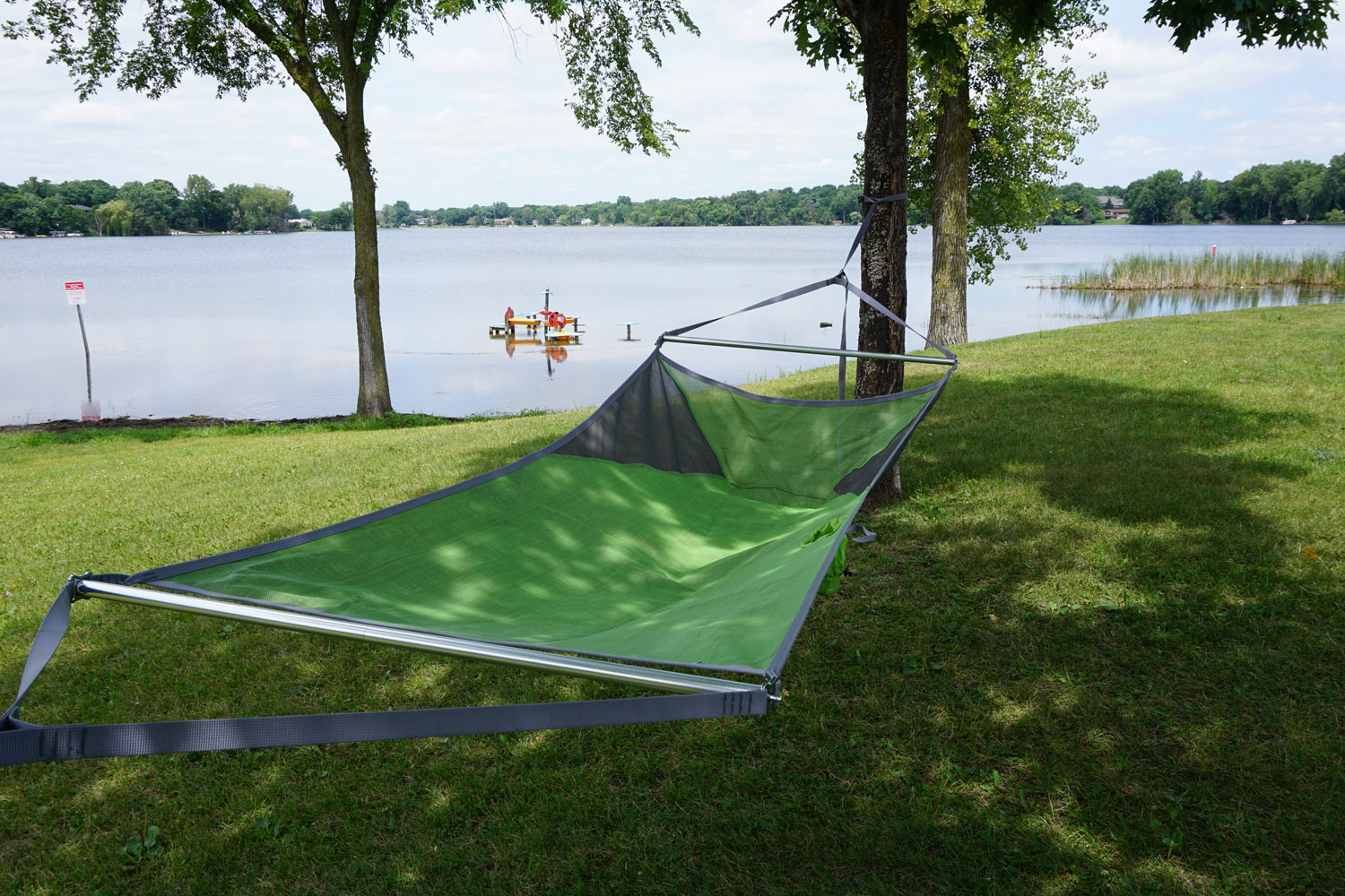 Review Nemo S First Hammock Holds Your Beer
