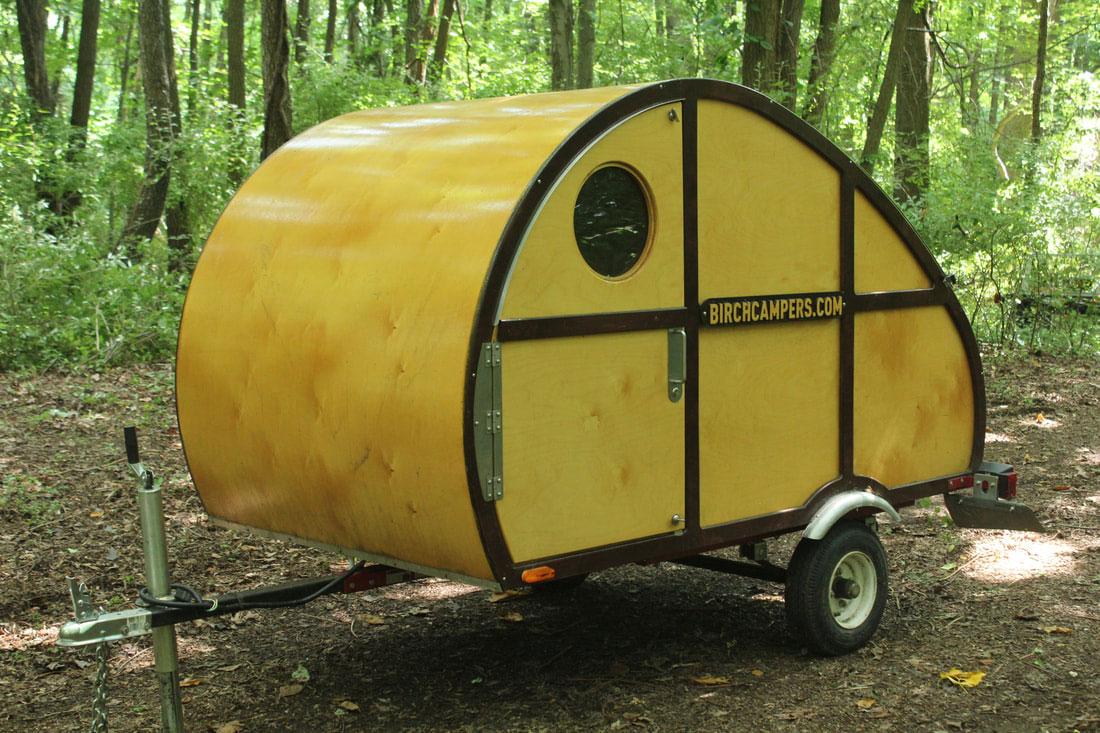 Big Woody Teardrop Camper