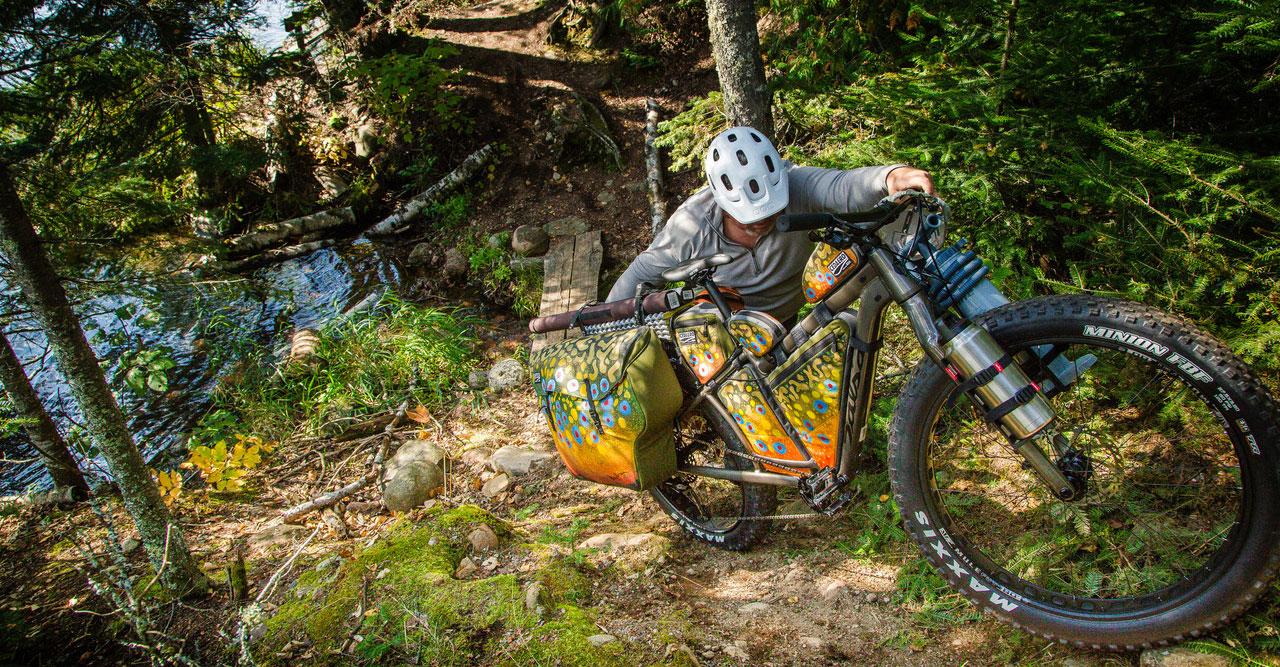 Mountain Biking To Pristine Northern Minnesota Fly Fishing