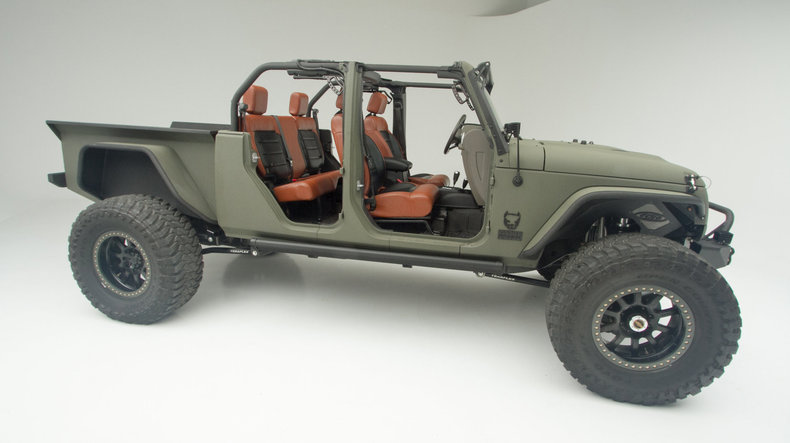 build the v8 jeep