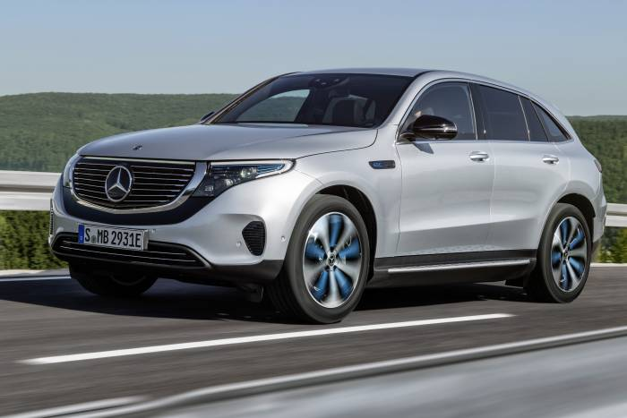 Mercedesbenz Debuts Electric Suv For 2020