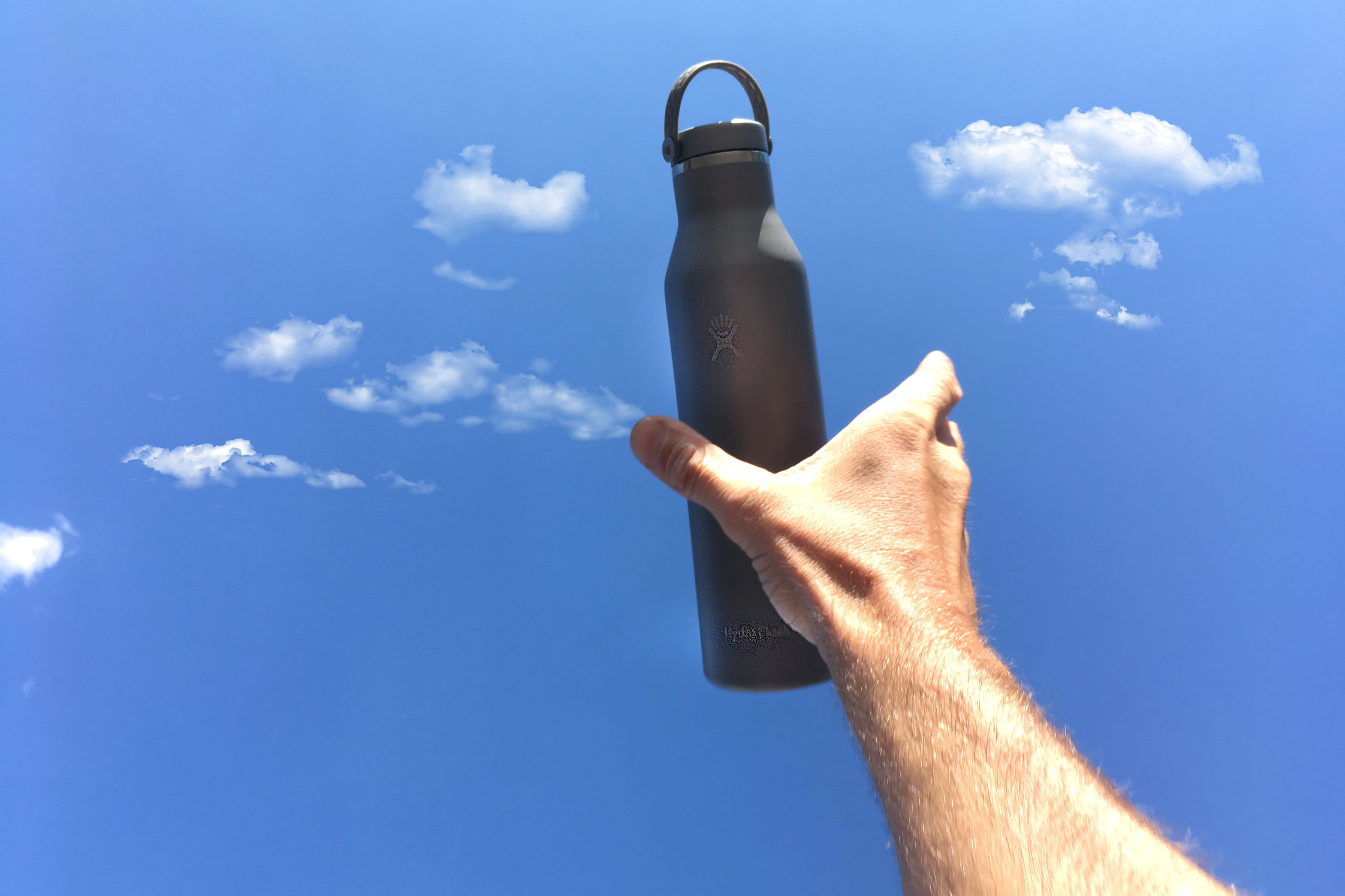 lightest insulated water bottle