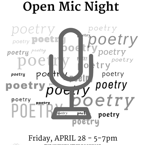 Youth Poetry Open Mic Night at The Hickory Stick Bookshop