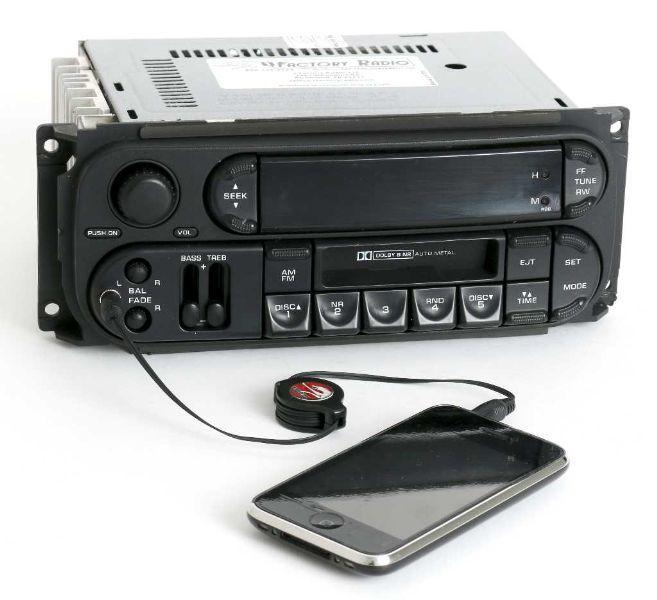 199802 Chrysler Dodge Rbb Radio Amfm Cs Cd Control Aux Input