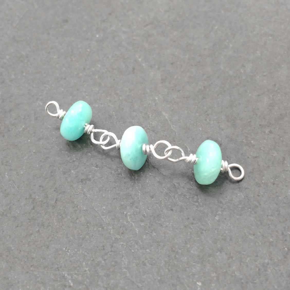 How To Make A Wire Wrapped Bead Chain
