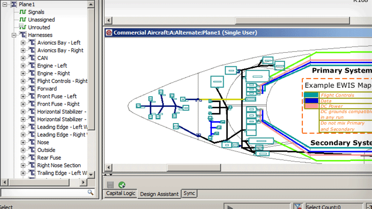 Electrical & Wire Harness Design Mentor Graphics