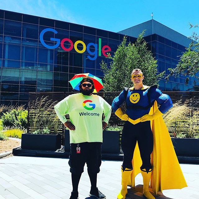 Captain Encouragement At Google