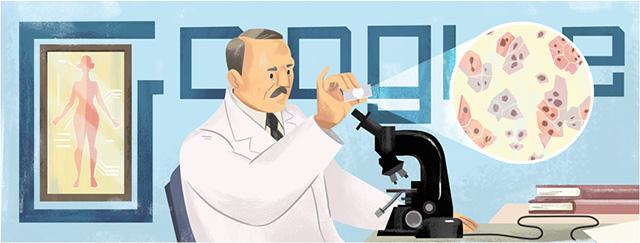 Georgios Papanikolaou Google Logo