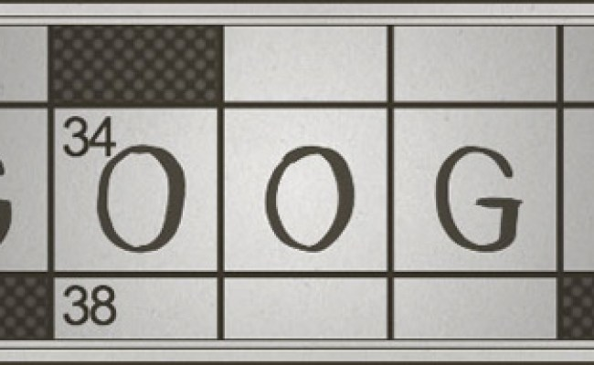 Crossword Inventor Gets A Google Doodle A Crossword Puzzle