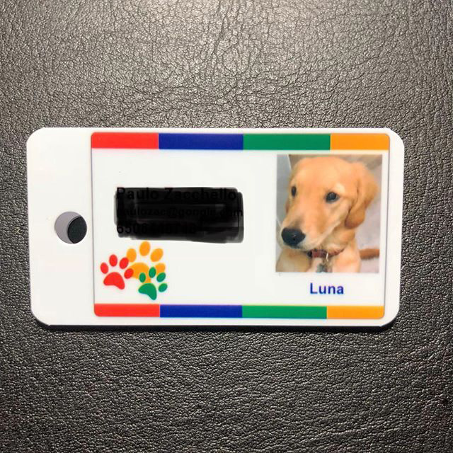 Google Dog Badge