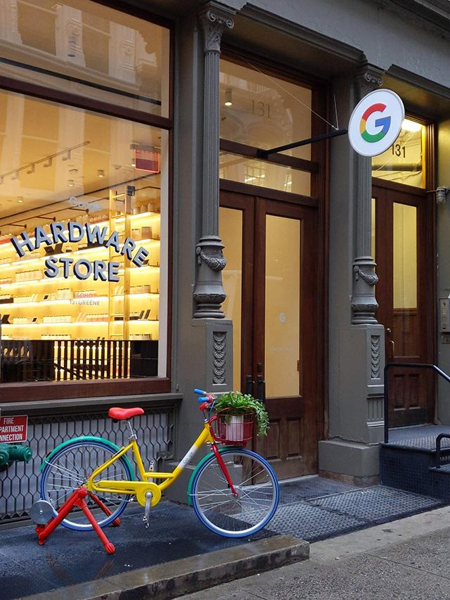 Google Hardware Stores