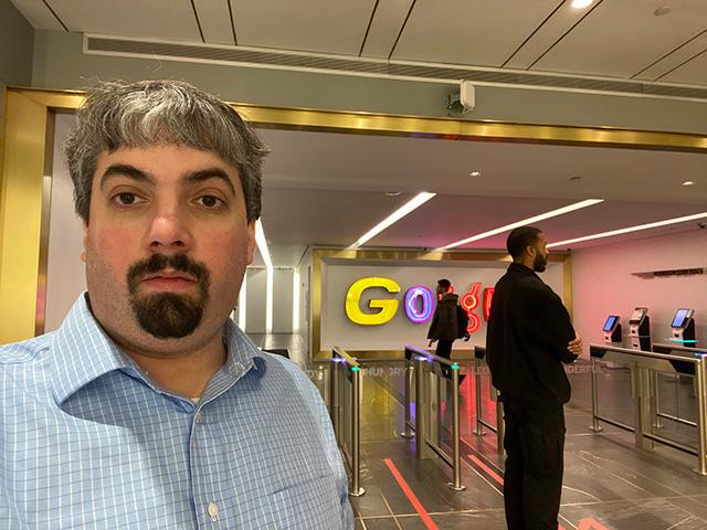 Google NYC 8th Avenue Lobby Timelapse