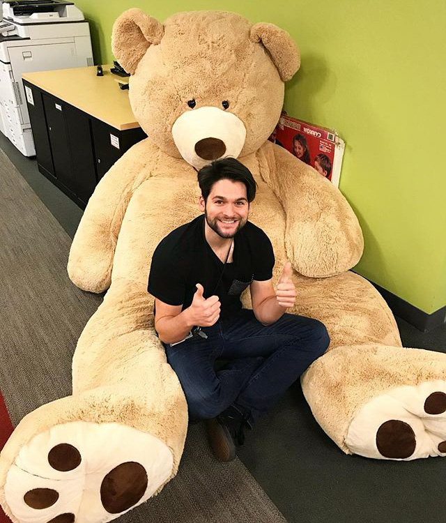 massive stuffed teddy bears