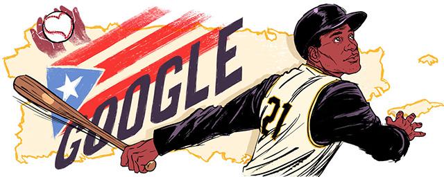 Roberto Clemente Google Doodle
