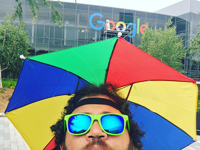 Google Updating Office Sign For Pride Month