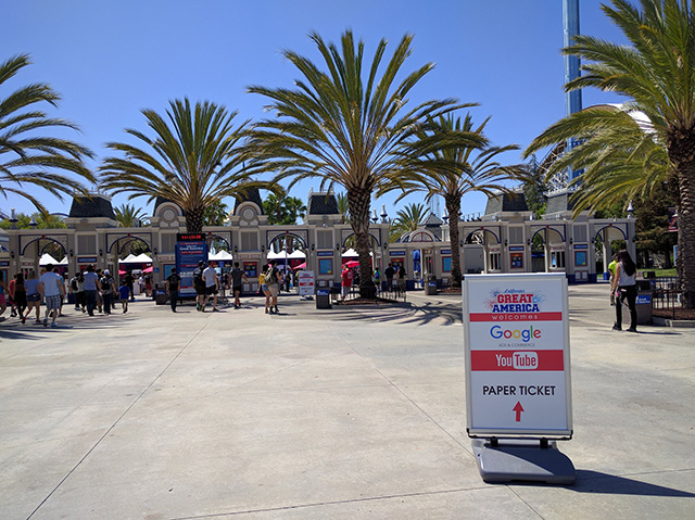 Google Rents Out Great America Park