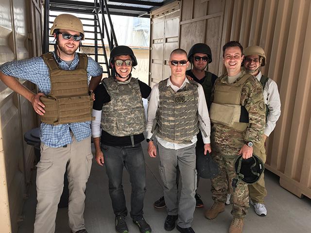 Matt Cutts In Army Tactical Body Armor