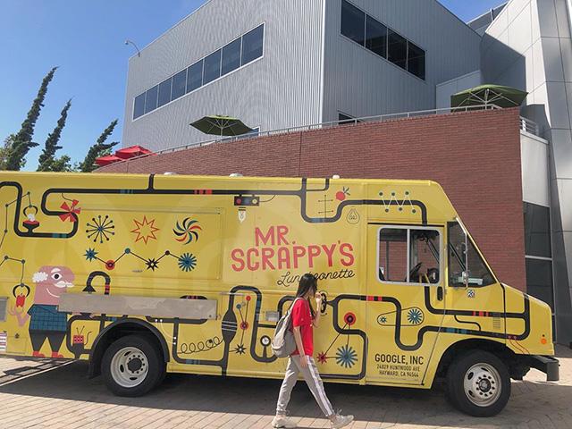 Mr. Scrappys Google Food Truck