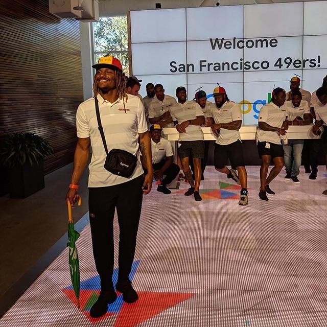 San Francisco 49ers At Google